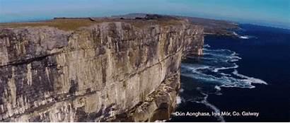 Eye Beaches Sandy Coast Ireland Drone Sheer