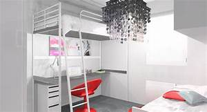 amenagement d39une chambre ado design stinside With amenagement d une chambre