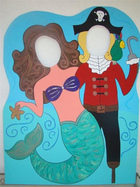 pirate mermaid photo cutout   sea pinterest