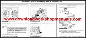 Porsche Cayenne Workshop Service Repair Manual And Parts