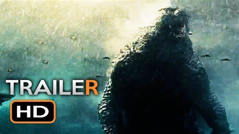 GODZILLA 2 Official Trailer (2019) King of the Monsters