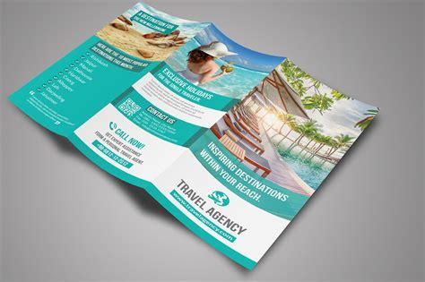 travel tri fold brochure brochure templates creative