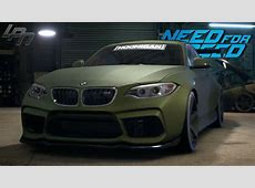 NEED FOR SPEED 2015 BMW M2 GAMEPLAY TUNING, COP CHASE