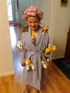 Crazy Cat Lady Halloween Costume Kids