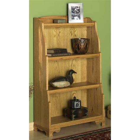 Woodworking Plans Bookcase by Solid Oak Bookcase Woodworking Plan From Wood Magazine