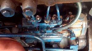 Ford Four Cylinder Diesel Minimec Injection Pump Problem