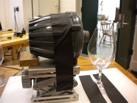break wine glass incomplete physics