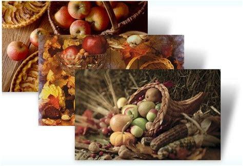 Thanksgiving Desktop Fun Autumn Bounty Theme For Windows