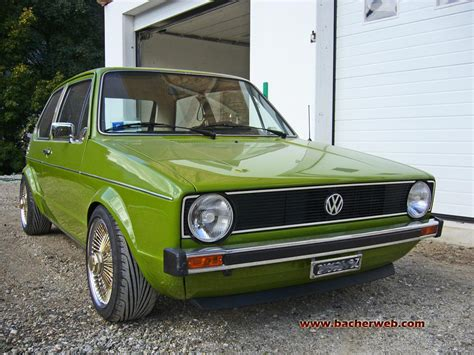 Vw 1er Golf G40 Tuning  Original Golf 1 Tuningberichte