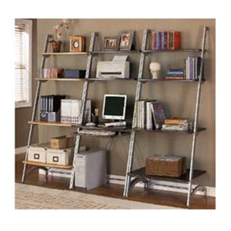 Computer Desk Bookcase by Computer Desks Wall Unit Computer Desk And Bookcase 8000