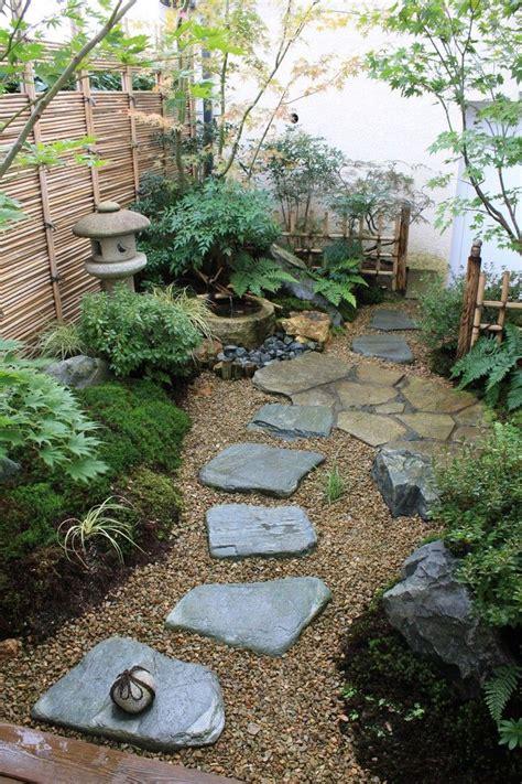 Japanischer Garten Erstellen by Kleiner Japanischer Garten Steine Kies Landschaft Moos