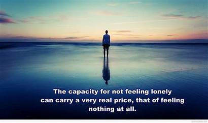 Alone Feeling Lonely Wallpapers Boy Quotes Quote