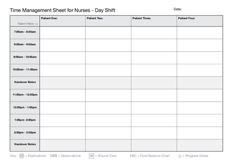 Printable Time Management Worksheets  Edit, Fill, Sign Online Handypdf