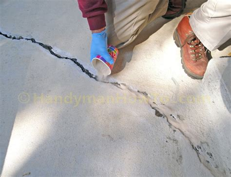 Concrete Slab Crack Repair  Part 2