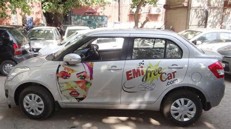 Cab Branding Ola Uber Taxi Branding Advertising Service