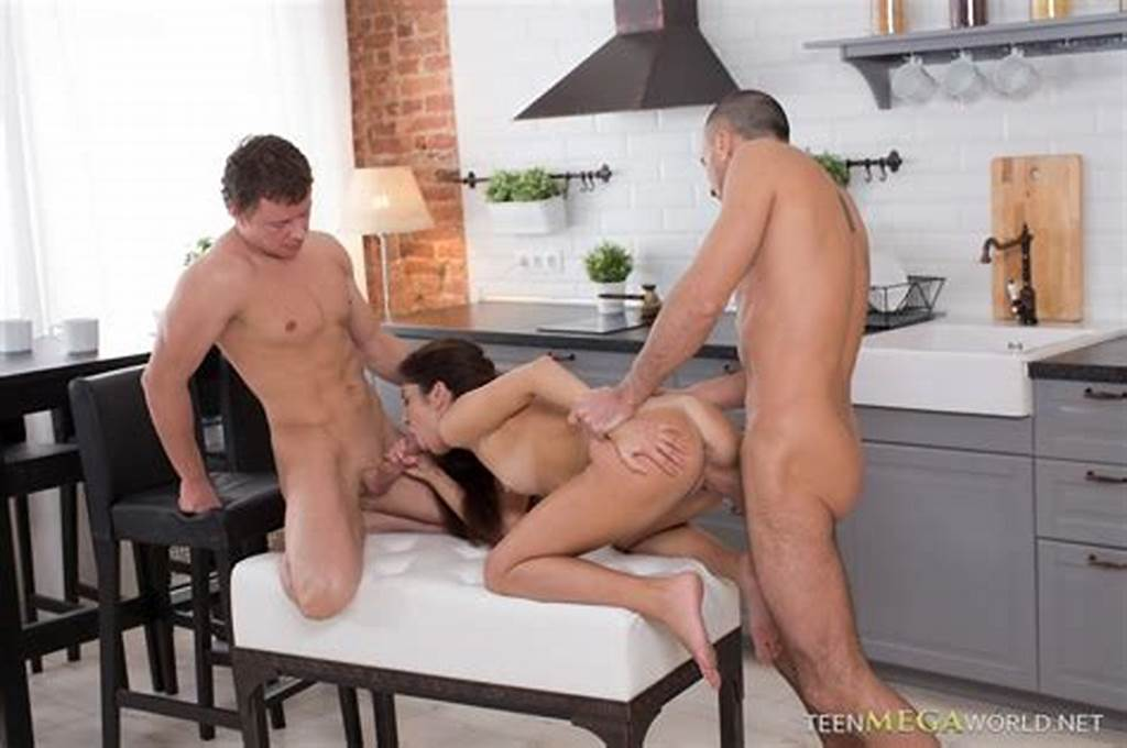#Cute #Acup #Teenie #Gets #Double #Teamed #In #Mmf #Threesome