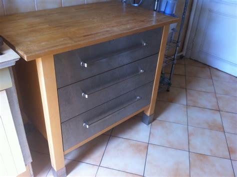 meuble cuisine inox ikea meuble cuisine 80 reservee je vide ma maison