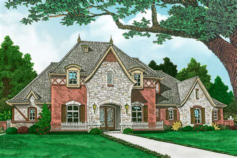 high end house plans high end country house plan 48568fm