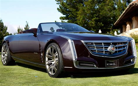 High Resolution Cadillac Ciel Luxury Car Photos