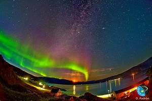 The Aurora Borealis On Air From Greenland
