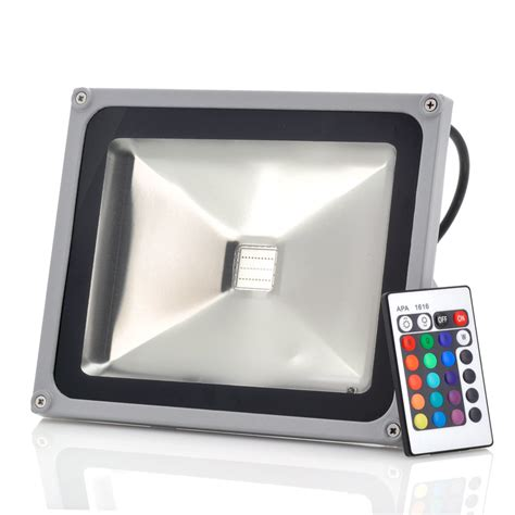 waterproof outdoor security led flood light 30w