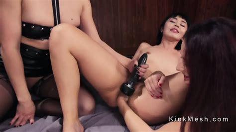 Ass To Mouth Dildo Lesbian Threesome EPORNER