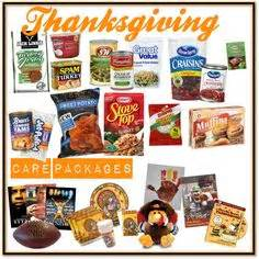 Thanksgiving Care Package on Pinterest