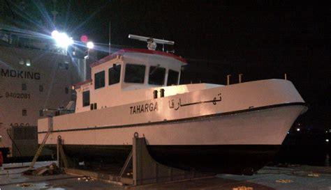 Darka Sudan discharges and delivers 17.5 meter survey boat ...