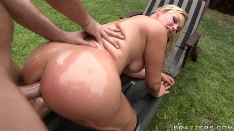 Gorgeous Outdoor Anal Sex With A Big Tit Mom Abbey Brooks