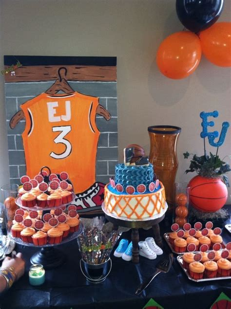 basketball theme baby shower  sweet carter greyson