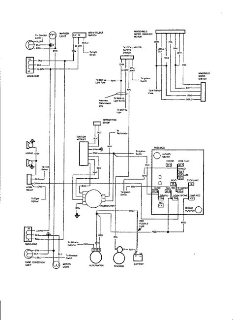 1980 Chevy Wiring by I Am Looking For A Simple Wiring Diagram For 1980 Gmc Pu