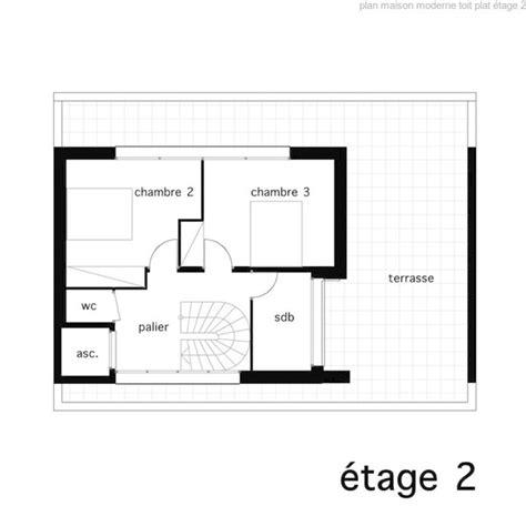 plan de maison a toit plat gratuit