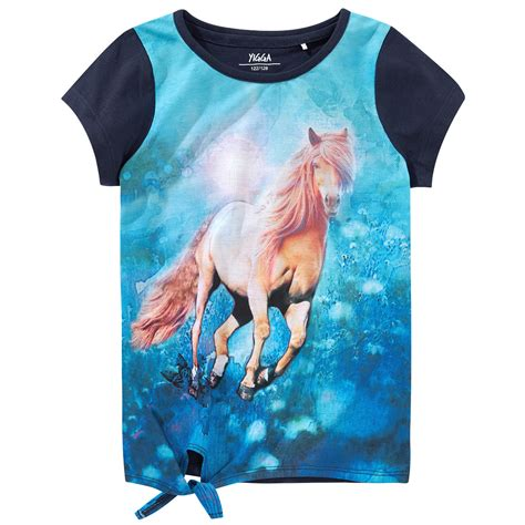 maedchen  shirt mit pferde motiv ernstings family
