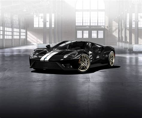 Ford Gt 66 Heritage Edition Homage To Le Mans Win Paul