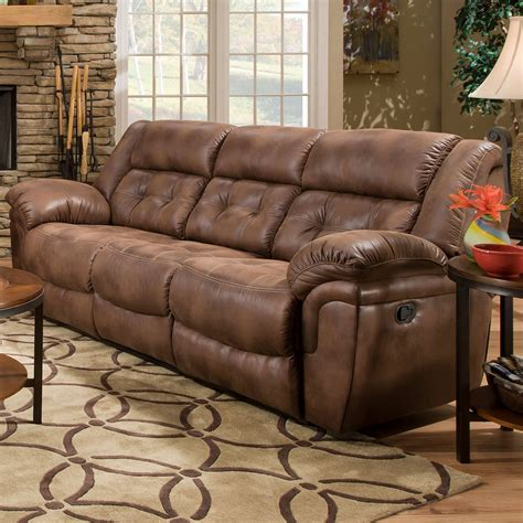 Simmons Loveseat Recliner by Simmons Upholstery Wisconsin Beautyrest Sofa Chocolate