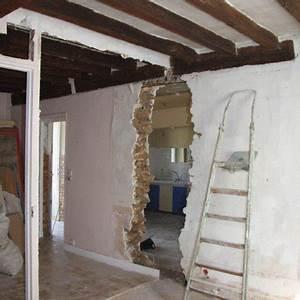 Comment Casser Un Mur Porteur : abattre mur porteur marie claire ~ Melissatoandfro.com Idées de Décoration