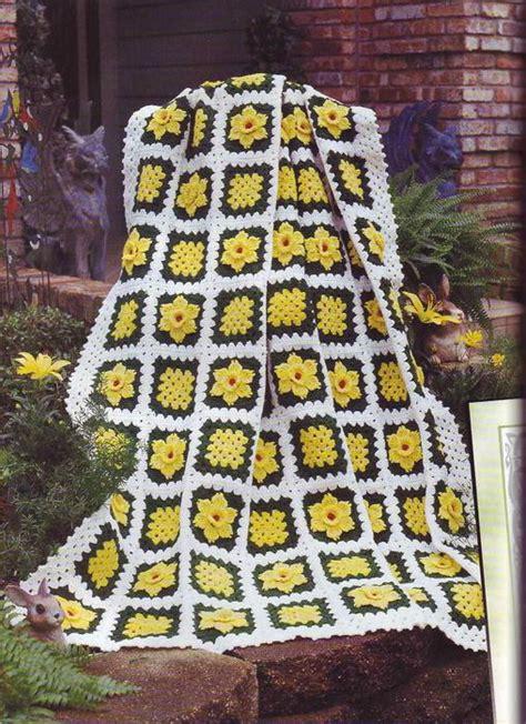 garden afghan crochet patterns make handmade