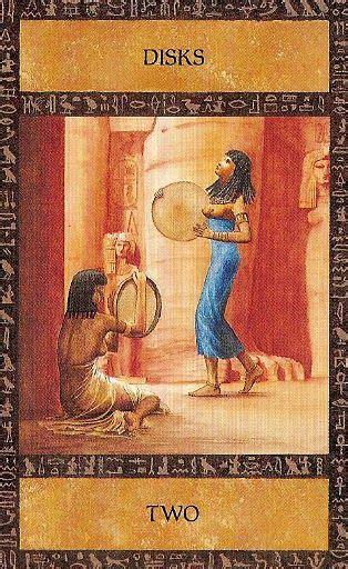 ancient egyptian tarot   disks  images