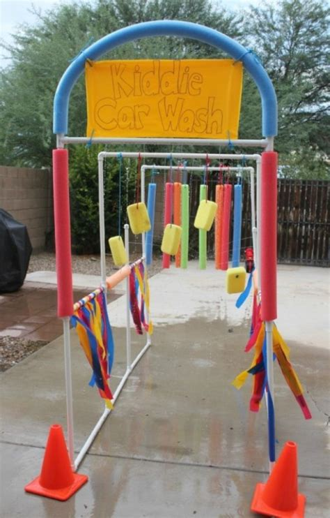 cool diy kiddie car wash kidsomania