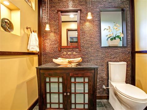 yellow asian bathroom pictures dramatic asian flair hgtv