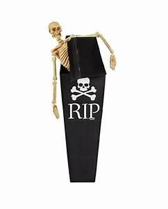 Deko Sarg Halloween : karton sarg mit totenkopfmotiv dekoration f r piratenpartys karneval universe ~ Markanthonyermac.com Haus und Dekorationen