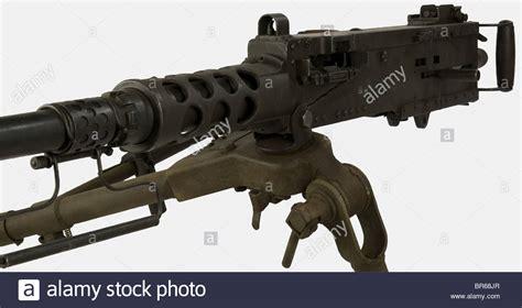 Ein Us-schweres Browning Maschinengewehr, Kaliber 12, 7mm