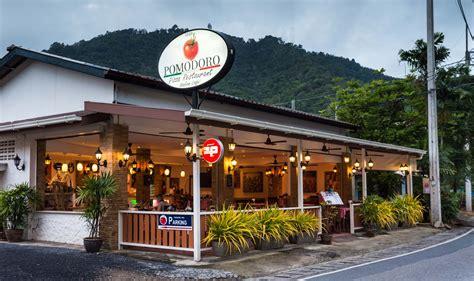 pomodoro pizza italian restaurant  phuket