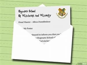 Einen Harry Potter Aufnahmebrief schreiben – wikiHow