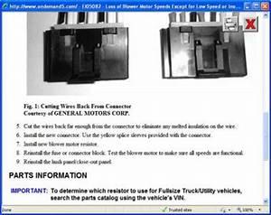 2006 Chevy Silverado Fan Motor Not Working  After Having A