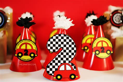 Car Themed Birthday Party Time2partaycom