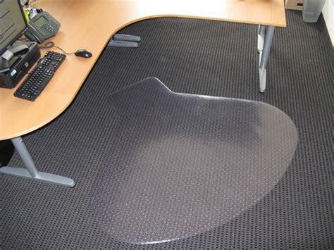 Chair Mats are Workstation Design Desk Mats / Office Floor