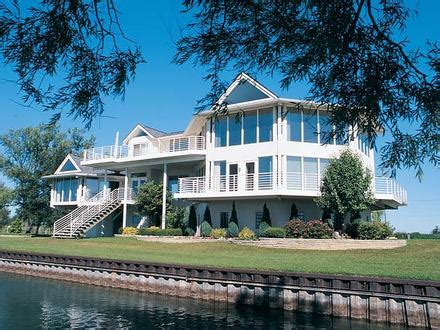 waterfront luxury home plans waterfront house floor plans