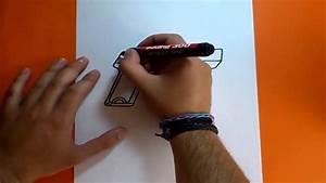 Como dibujar una pistola paso a paso How to draw a gun YouTube
