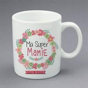 Mug Fete Des Meres : mug super mamie cadeau mamie little pop studio ~ Teatrodelosmanantiales.com Idées de Décoration